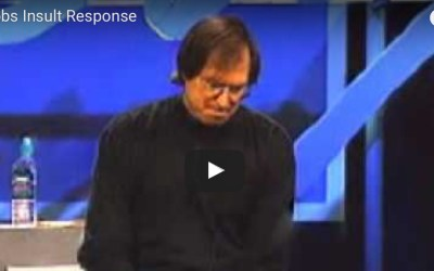 20 Years Ago, Steve Jobs Demonstrated the Perfect Way to Respond to an Insult | Inc. Magazine