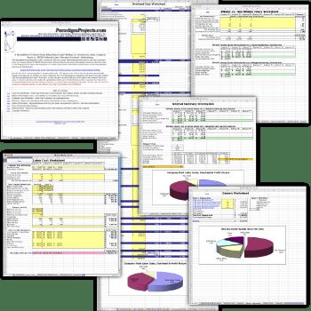 Capacity Based Markup Workbook aka The PILAO Worksheet