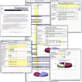 Capacity Based Markup Workbook aka The PILAO Worksheet