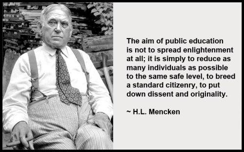 menken on education