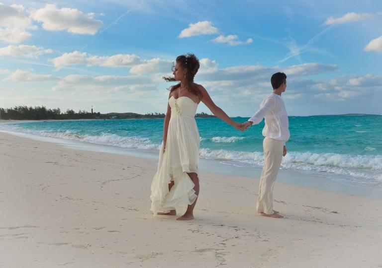 mariage officiel aux bahamas avec notre partenaire bahamour