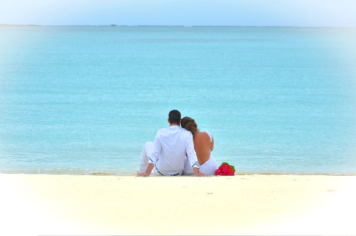 celebrate your wedding on our beach in exuma