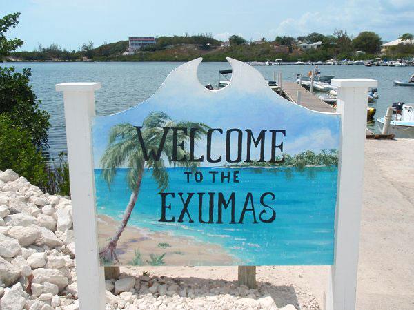 welcome in exuma bahamas