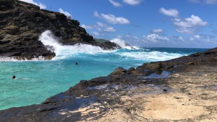 Cockroach Cove Oahu Hawaii