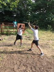 Whittling and Stage Combat Combat