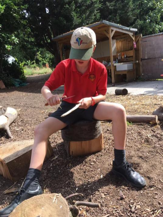 Whittling and Stage Combat Knife Work