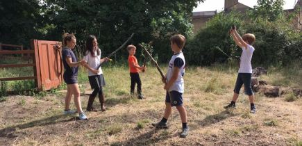 Whittling and Stage Combat Practising Routine