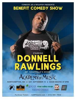 Comedy Cause We Care Starring Donnell Rawlings