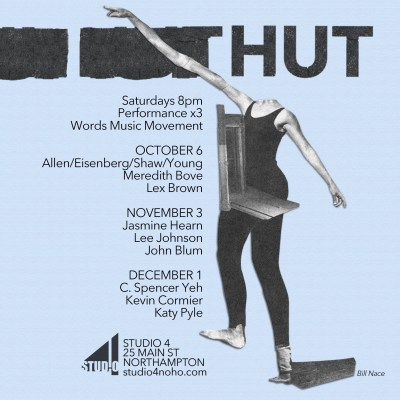 STUDIO4 presents HUT_18: Words Music Movement