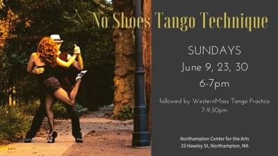 No Shoes Tango Technique