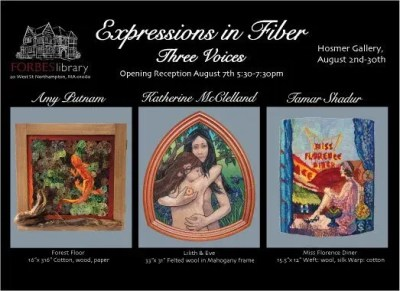 Artists' Reception for Expressions in Fiber: Three Voices