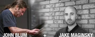 JOHN BLUM, piano + JAKE MEGINSKY, percussion in concert