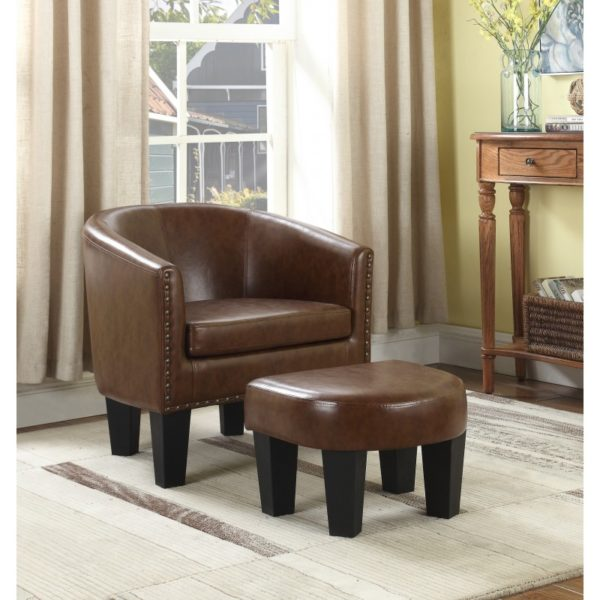 brown accent chair with ottoman swing verandah paradise furniture store