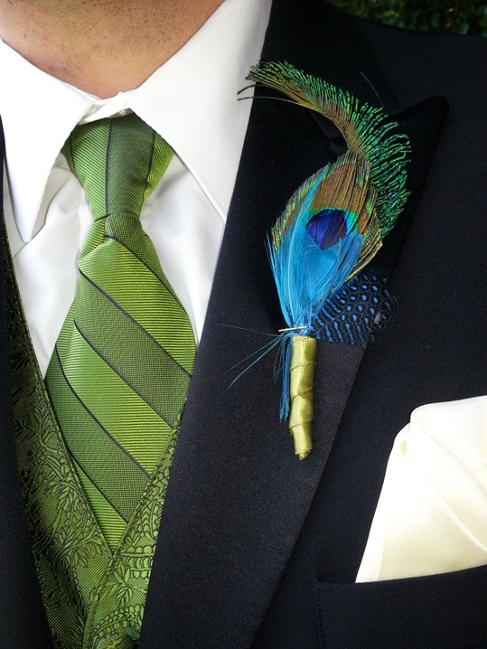 I love this boutonniere