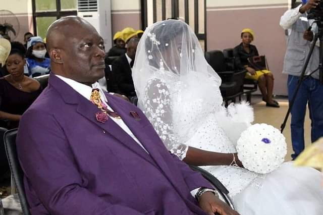 Photos from C'River Acting Chief Judge's wedding, as he remarries 1