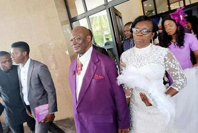 Photos from C'River Acting Chief Judge's wedding, as he remarries 3