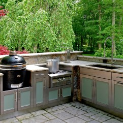Grills For Outdoor Kitchens Kitchen Islands With Seating 2 Premier Kamado Joe Ceramic Paradise