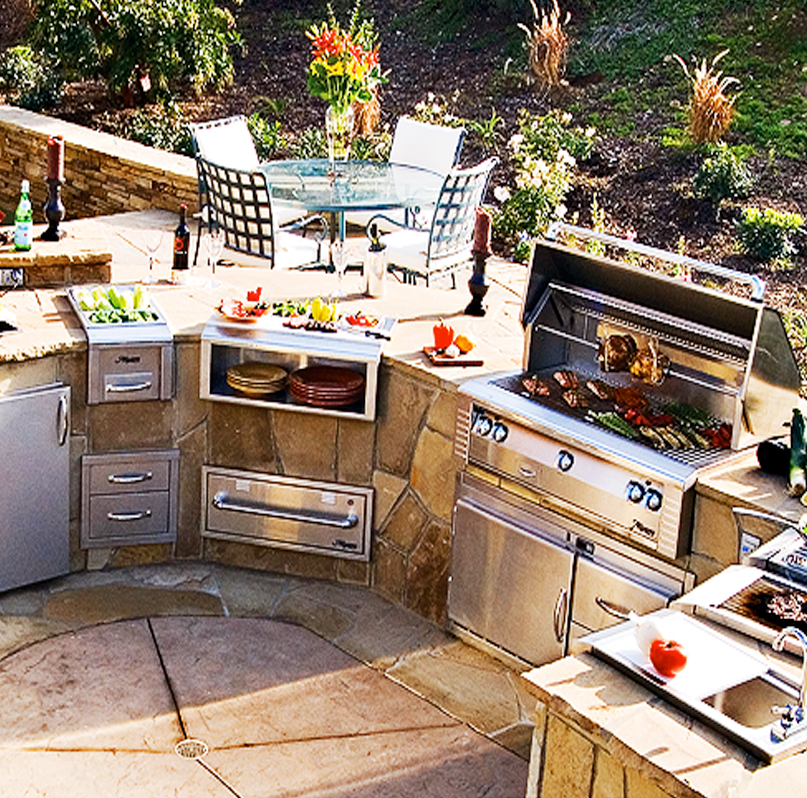 Gas Grills by Alfresco  Paradise Outdoor Kitchens