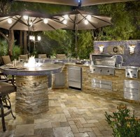 Custom Outdoor Kitchens - Paradise Outdoor Kitchens ...