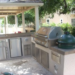 Custom Outdoor Kitchens Kitchen Wall Cabinets Paradise