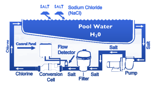 Salt Generator Systems  Paradise Pools