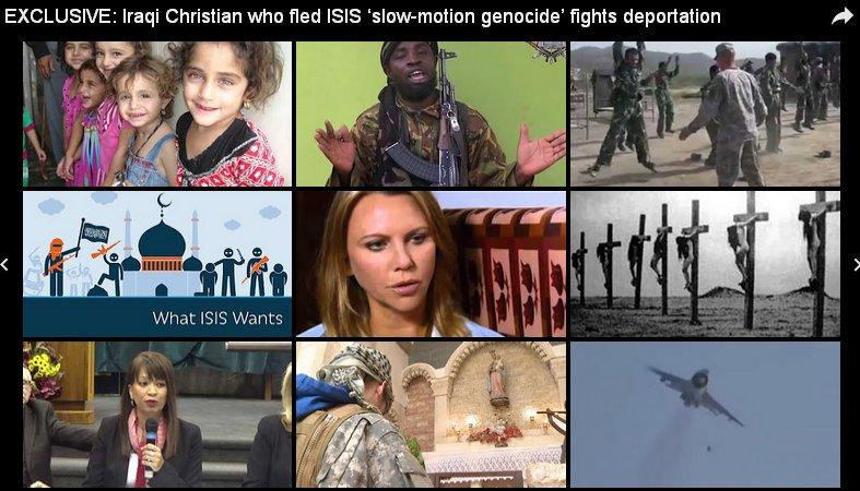 Iraqi Christians Killed & Robbed by US-raeli Left Created ISIS