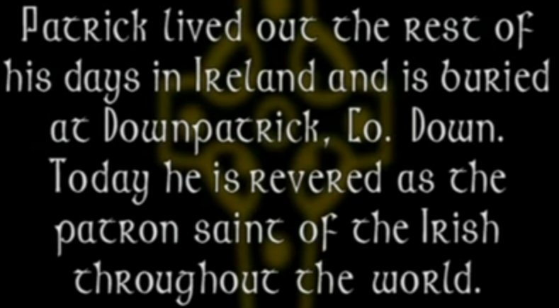 St. Patrick Patron Saint of Ireland Who Served the Irish Rather Than the Church System