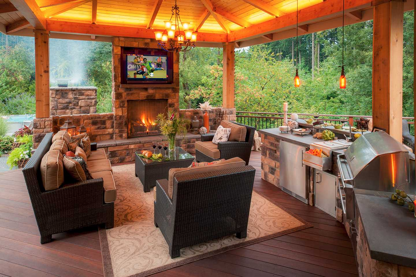 Outdoor Kitchen Ideas Paradise Restored Landscaping