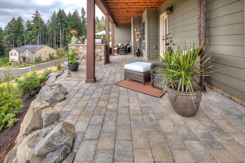 hot tub patio designs paradise restored landscaping
