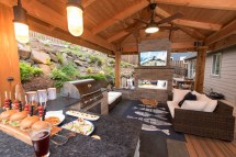 outdoor living spaces - paradise