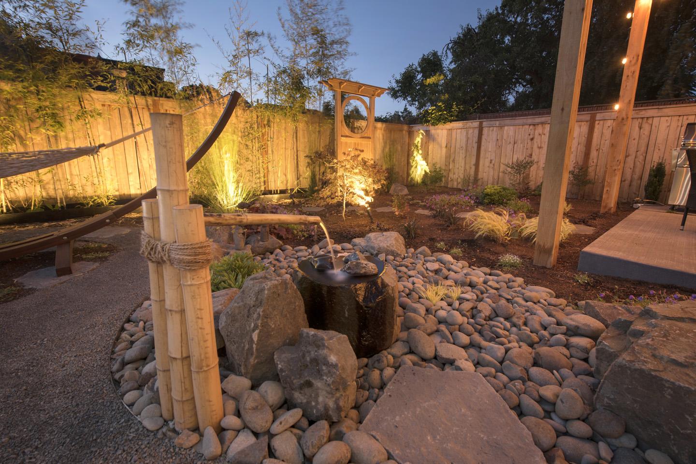 Minimalist Garden Paradise Restored Landscaping