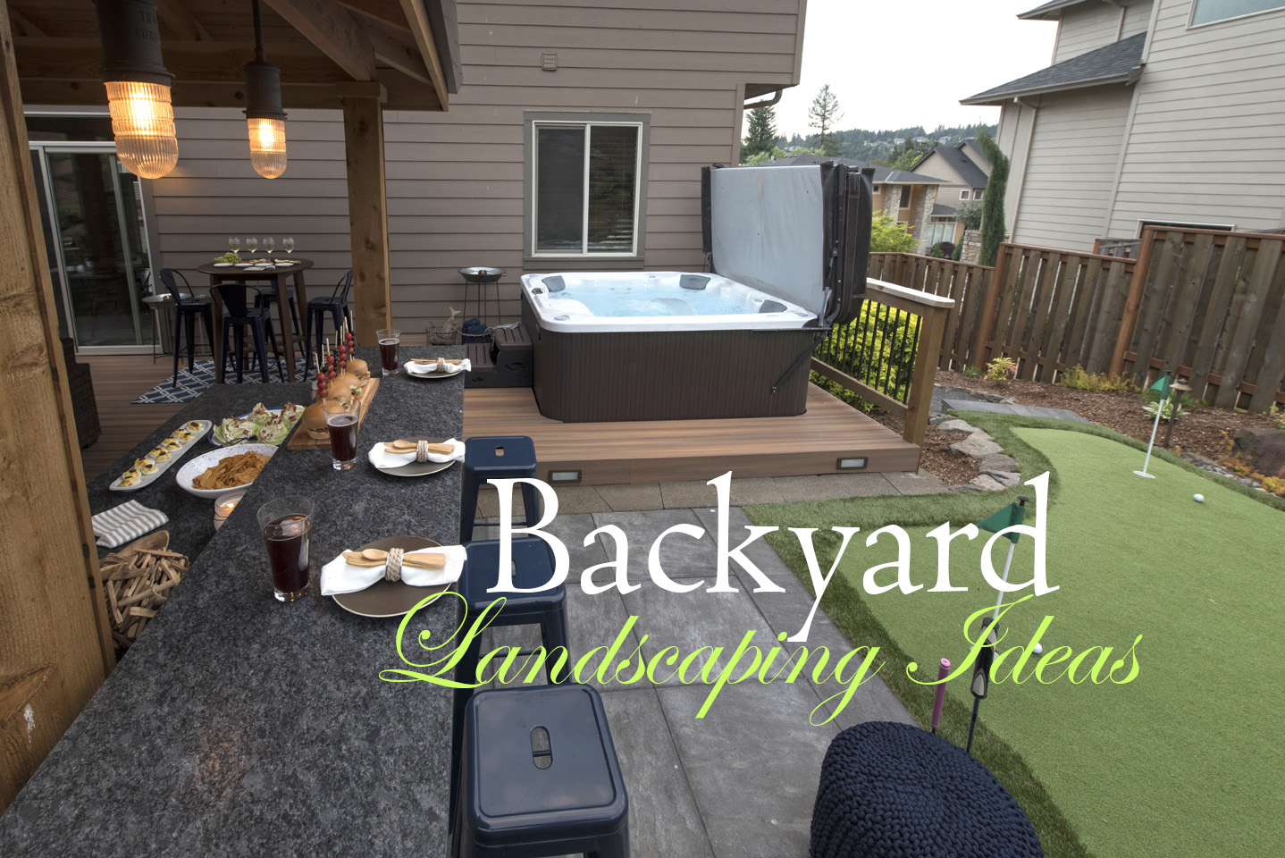 backyard landscaping ideas paradise restored landscaping