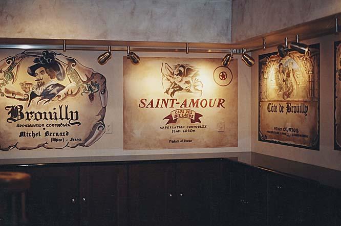 Wine Cellar Murals Wine Themes Paradise Studios Luxury