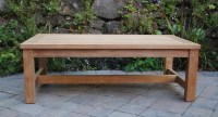 Large Rectangle Coffee Table - Paradise Teak