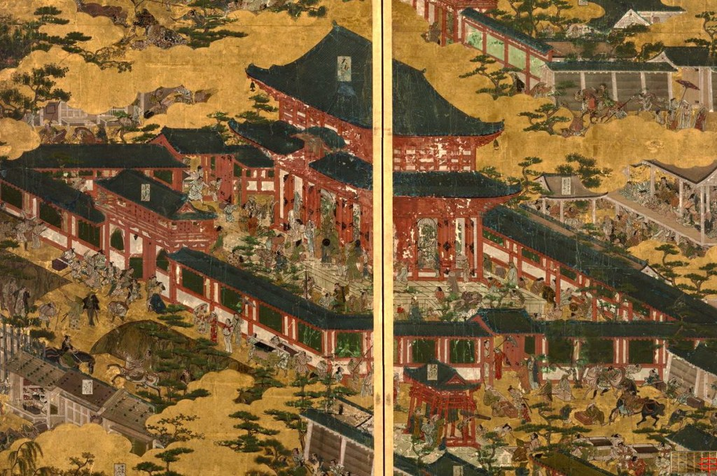 岩佐又兵衛 Iwasa Matabei 洛中洛外図 舟木本Folding Screens of Scenes In and Around Kyoto (Funaki Version)-09