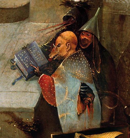 ヒエロニムス・ボス Hieronymus Bosch 聖アントニウスの誘惑(中央) The Temptation of St. Anthony(center)