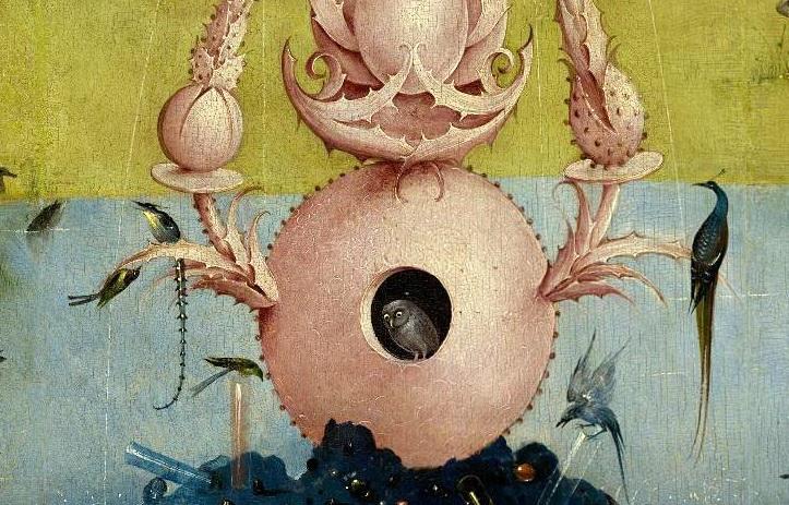 ヒエロニムス・ボス Hieronymus Bosch 悦楽の園(左翼)The Garden of Earthly Delights(left wing)