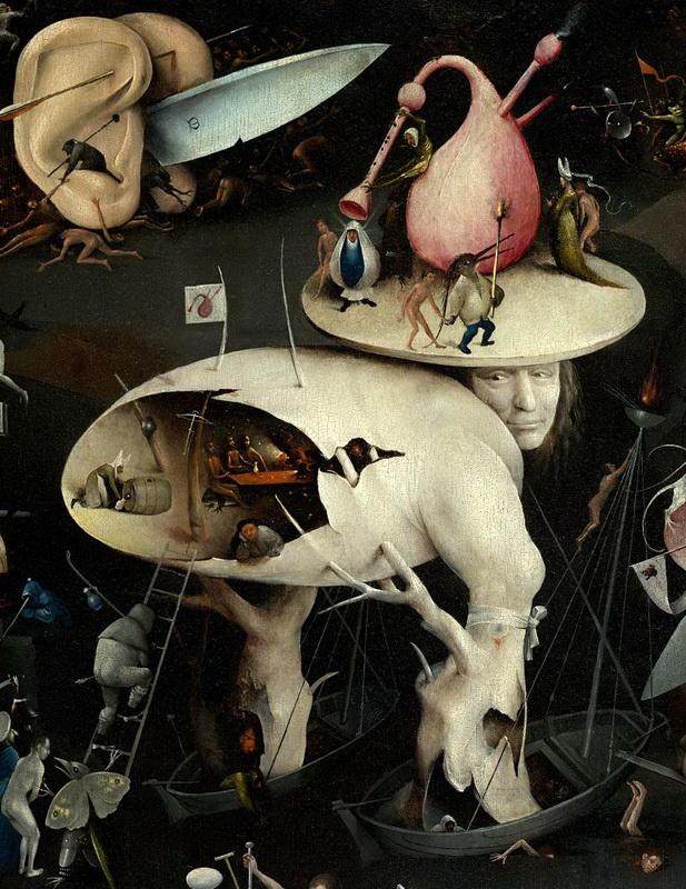 ヒエロニムス・ボス Hieronymus Bosch 悦楽の園(右翼) The Garden of Earthly Delights(right)