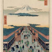 浮世絵の塗り絵 17(歌川広重)
