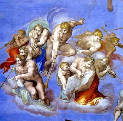 ミケランジェロ『最後の審判』