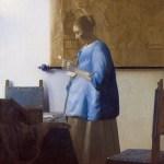 フェルメール『手紙を読む女(青衣の女)』