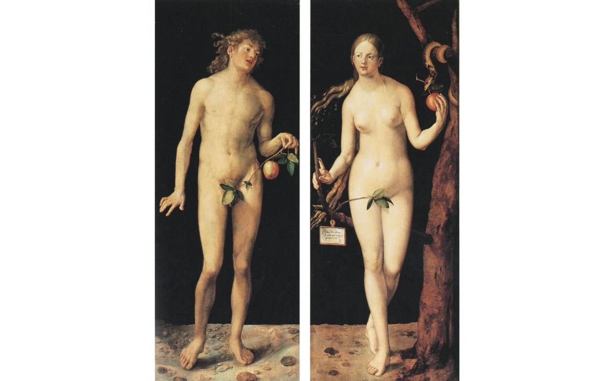 デューラー『アダムとエヴァ』