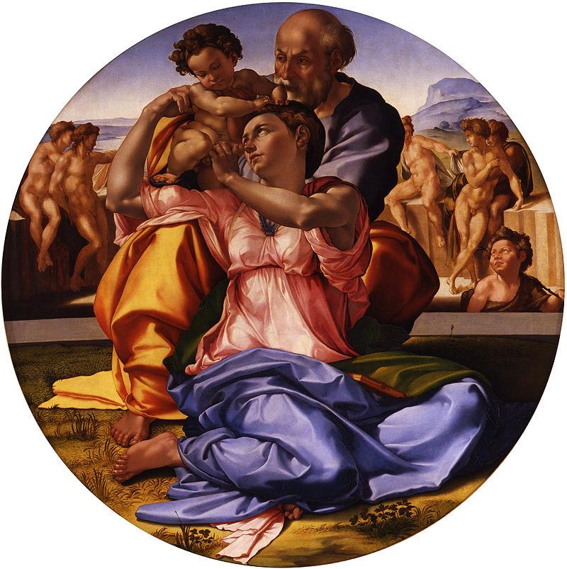 ミケランジェロ『聖家族』