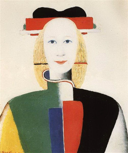 カジミール・マレーヴィチ Malevich_girl-with-a-comb-in-her-hair-1933