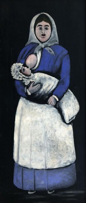 Pirosmani_nurse-with-baby01