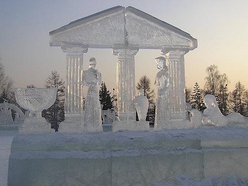 ледени склуптури