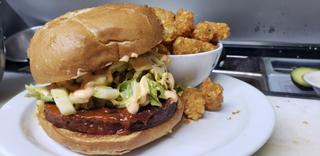 Southern Comfort Burger