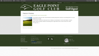 Pros Corner - Eagle Point Golf Course