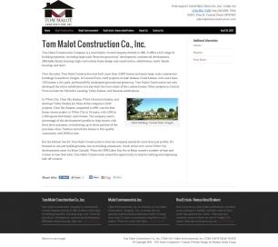 Tom Malot Construction Co., Inc. - Malot Companies