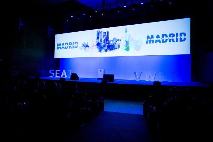 CONGRESO SEAT VWFS EVENTO PALACIO CONGRESOS MADRID